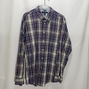 Tommy Hilfiger Shirts - Tommy Hilfiger Size XL Plaid Button Down